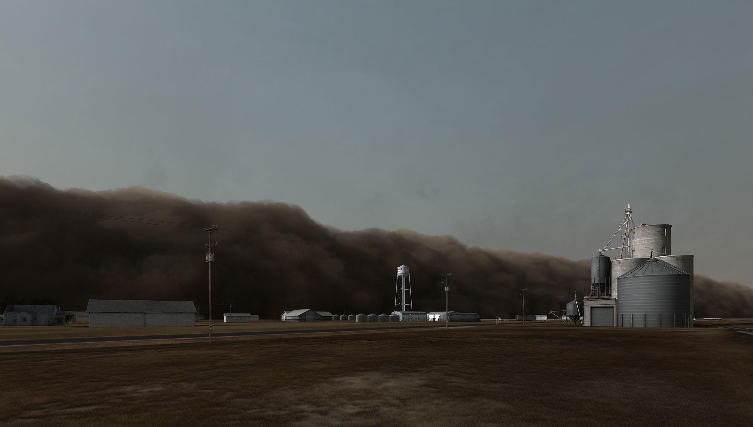 Kansas stanton county manter - Dust Storm Manter Kansas 2007