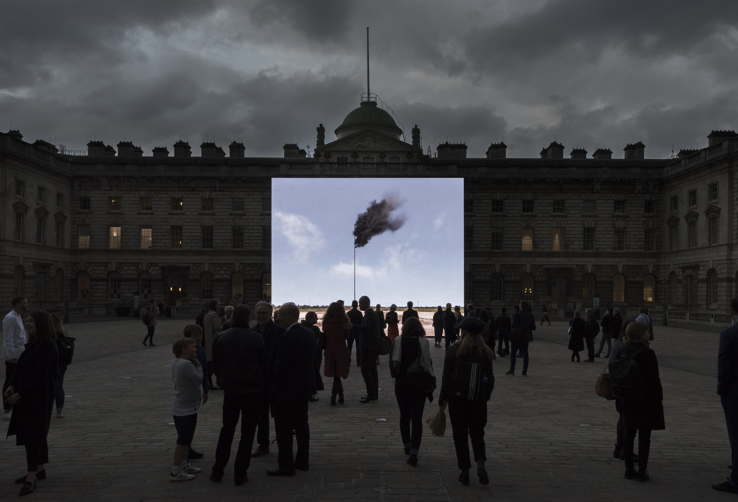 2017 WESTERN FLAG SOMERSET HOUSE LONDON C Damian Griffiths